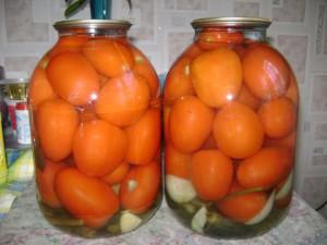 Рецепт маринования помидор