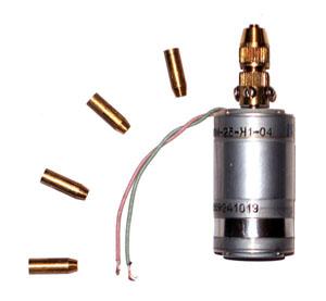 Самодельная миниатюрная электродрель.