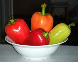 Перец салатный и острый салат.