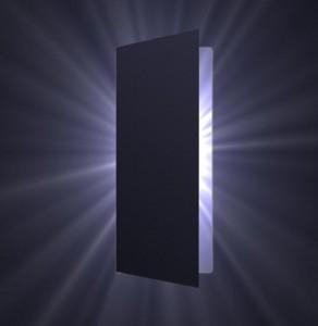 Подсветка замка внутренних дверей
